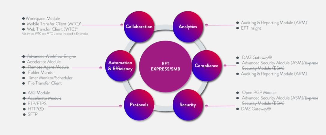 Globalscape offers Secure file Transfer services - EFT Express
