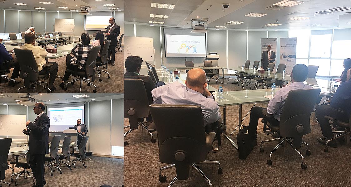 DTSME session of GlobeSoft Qatar, organized by MOTC at Doha, Qatar